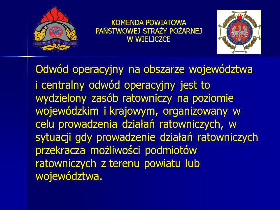 Odwód operacyjny na obszarze województwa