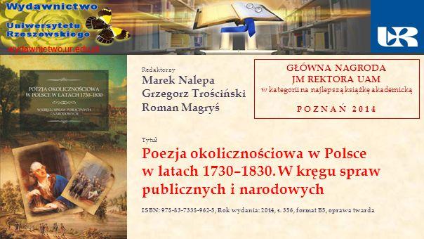 Poezja okolicznościowa w Polsce