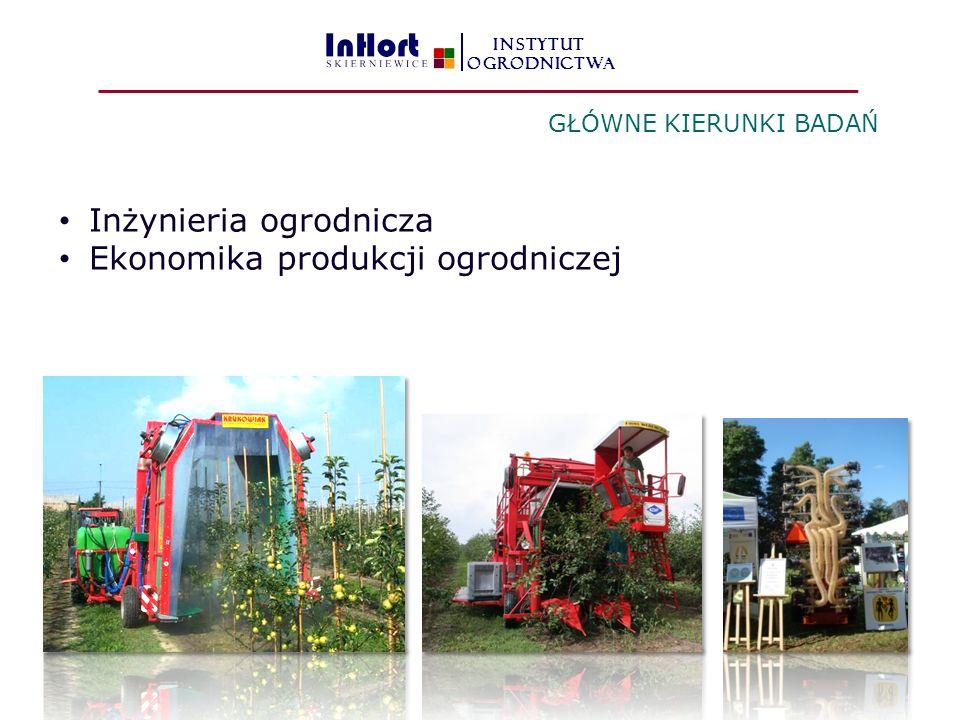 Inżynieria ogrodnicza Ekonomika produkcji ogrodniczej