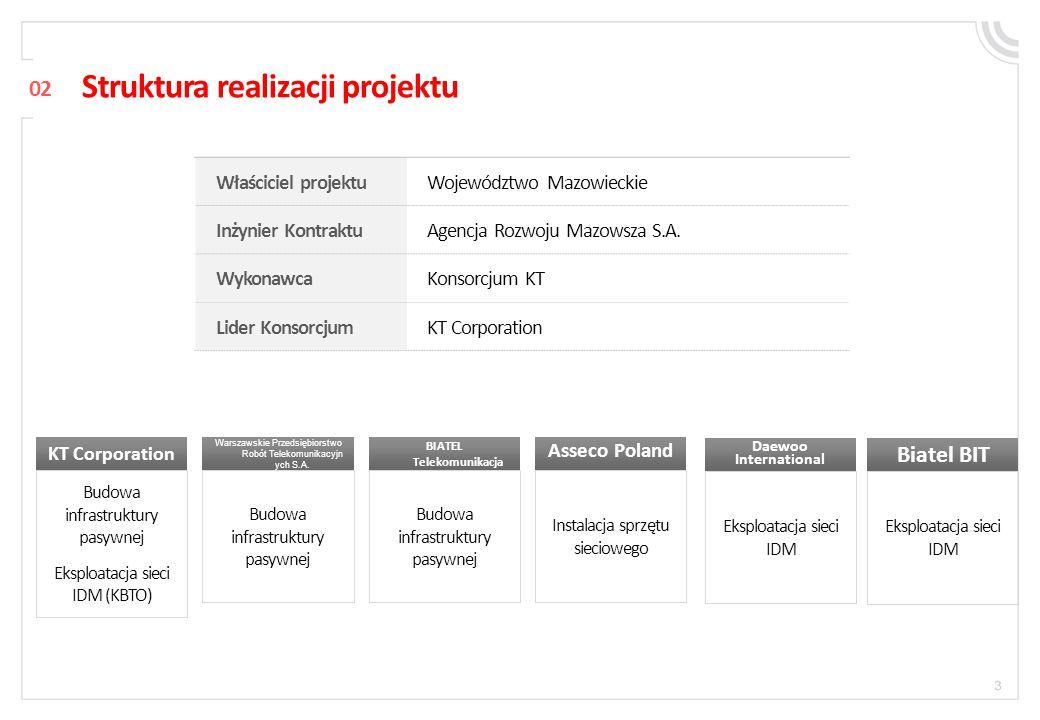 Struktura realizacji projektu