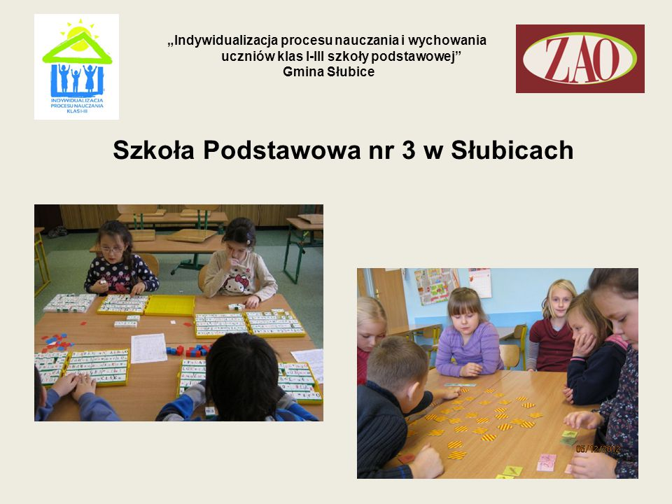 Szkoła Podstawowa nr 3 w Słubicach
