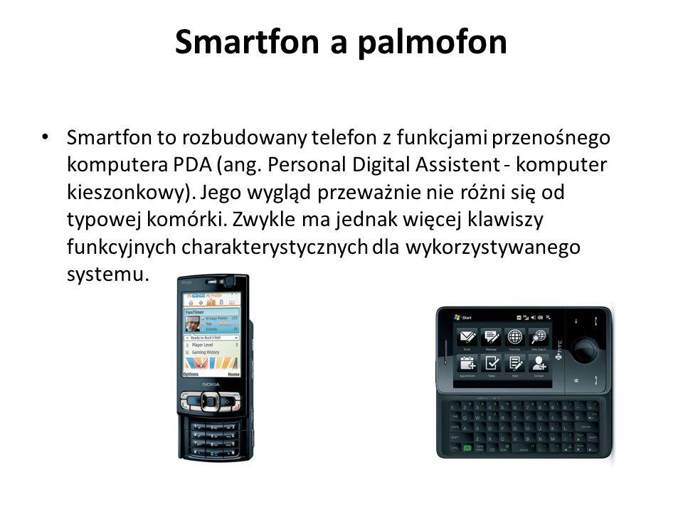 Smartfon a palmofon