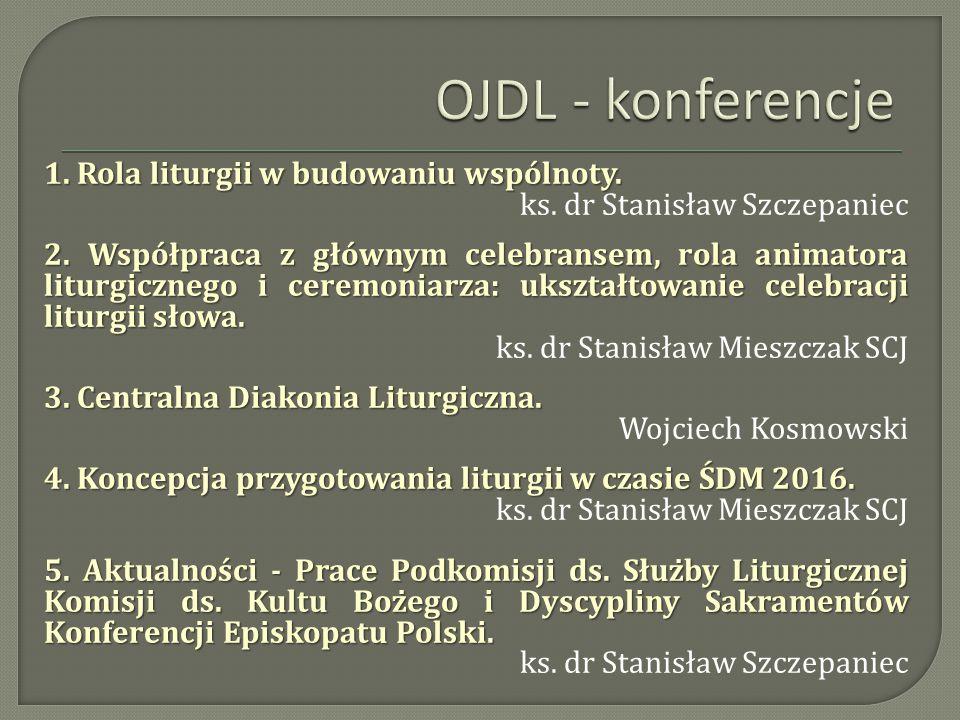 OJDL - konferencje