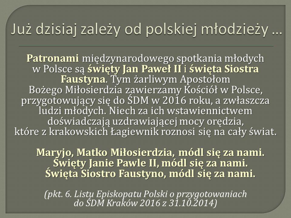 Już dzisiaj zależy od polskiej młodzieży …