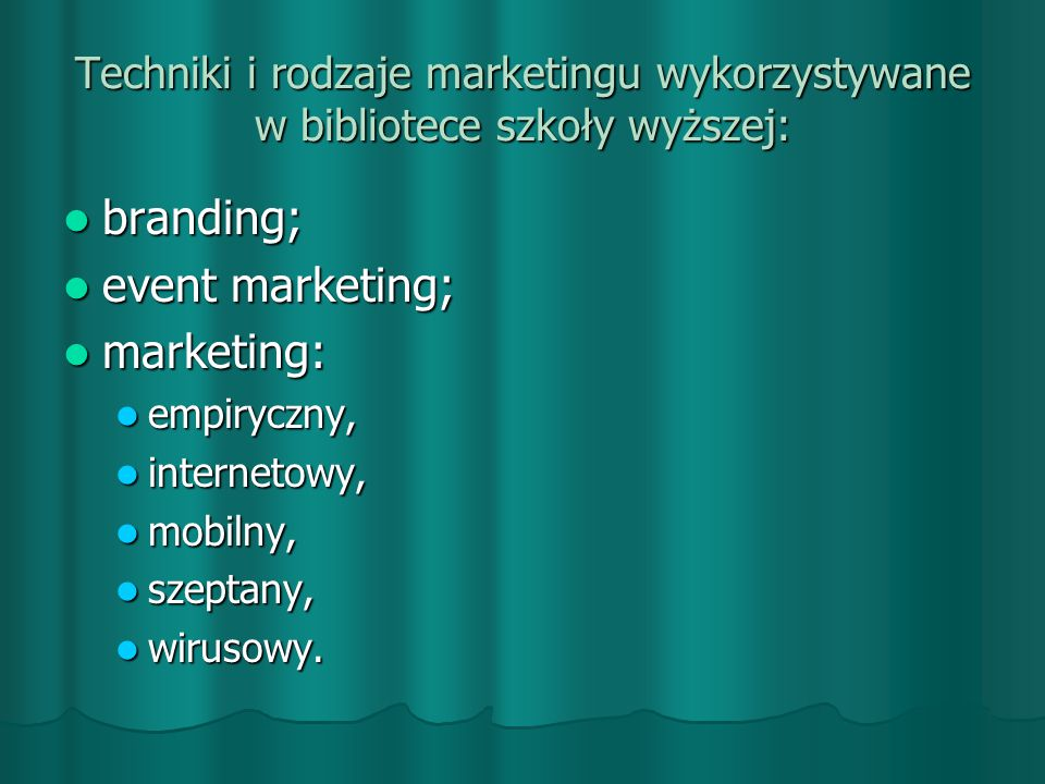 branding; event marketing; marketing:
