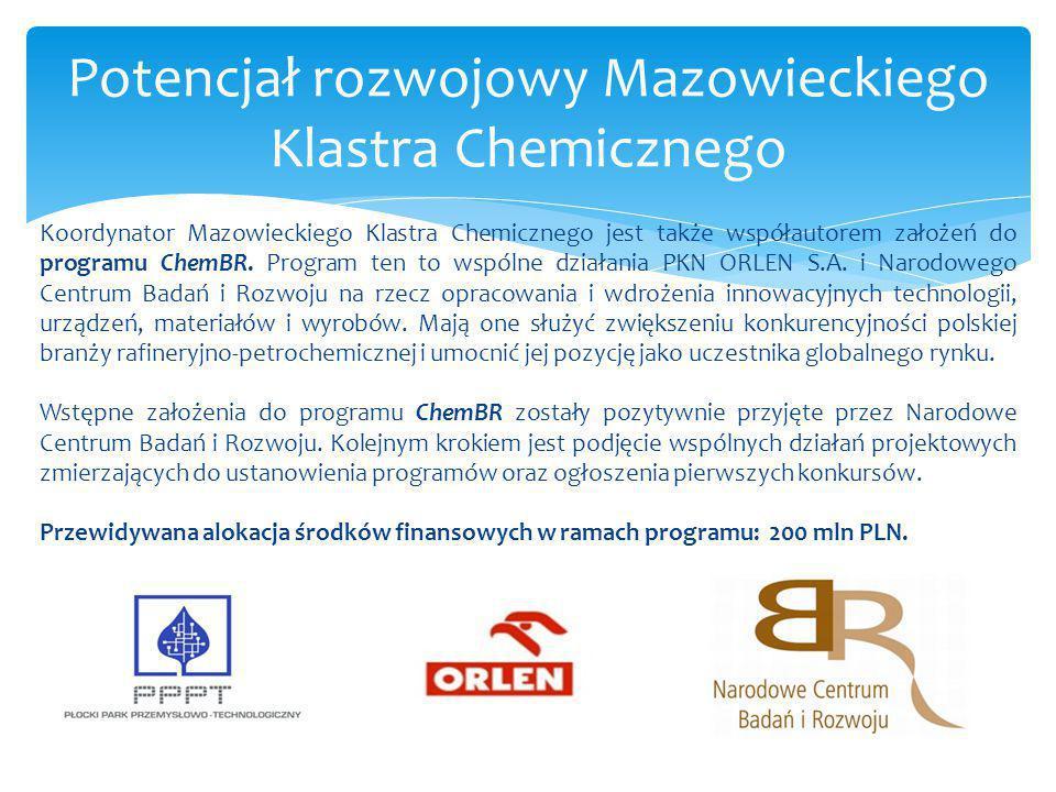 Potencjał rozwojowy Mazowieckiego Klastra Chemicznego