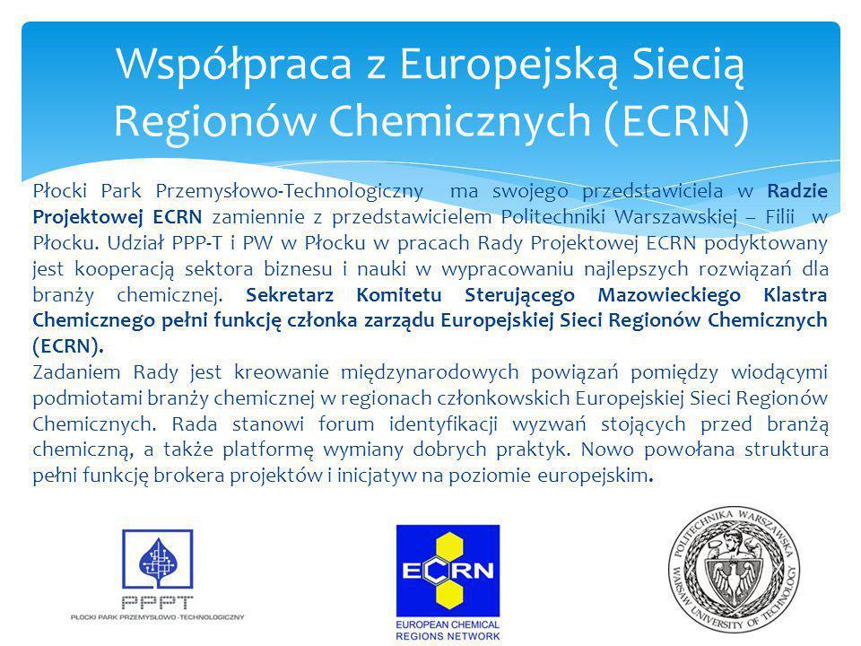 Współpraca z Europejską Siecią Regionów Chemicznych (ECRN)
