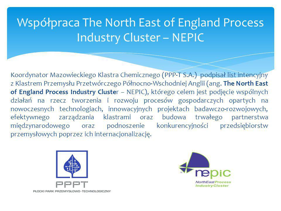 Współpraca The North East of England Process Industry Cluster – NEPIC