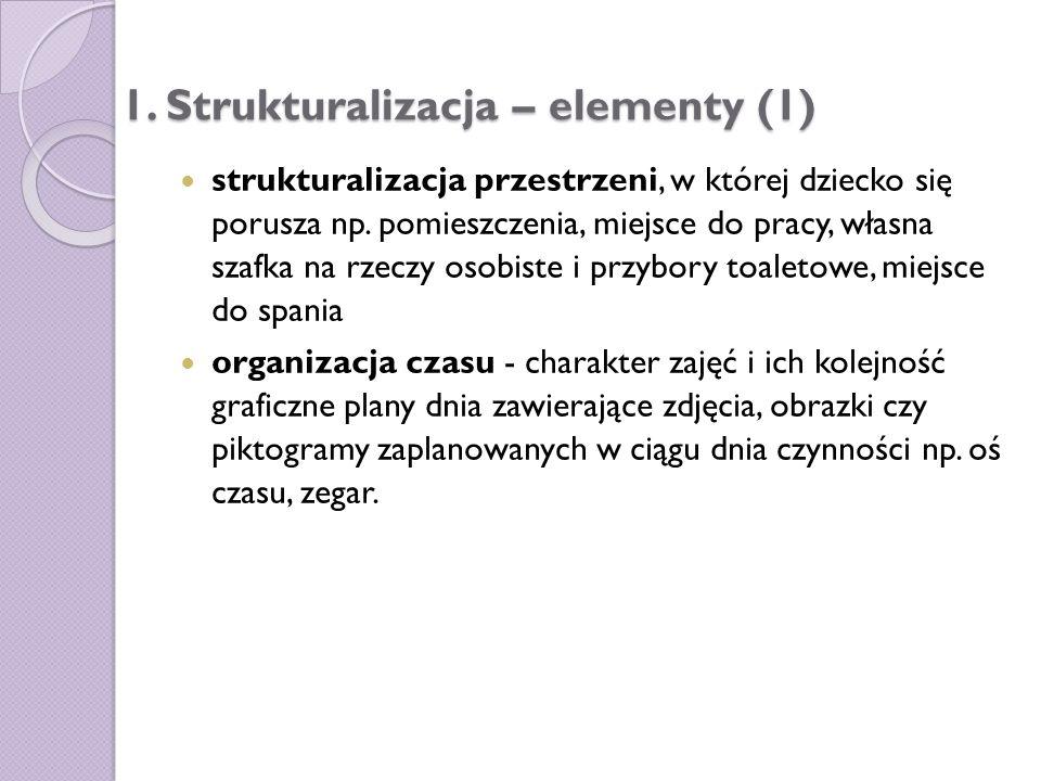 1. Strukturalizacja – elementy (1)