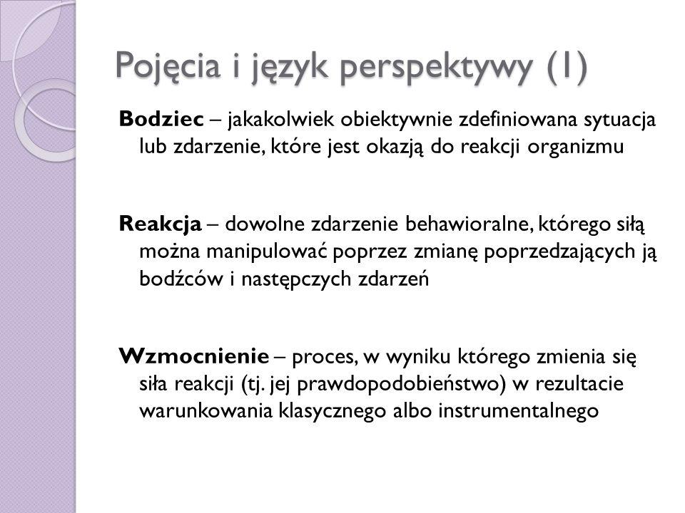 Pojęcia i język perspektywy (1)