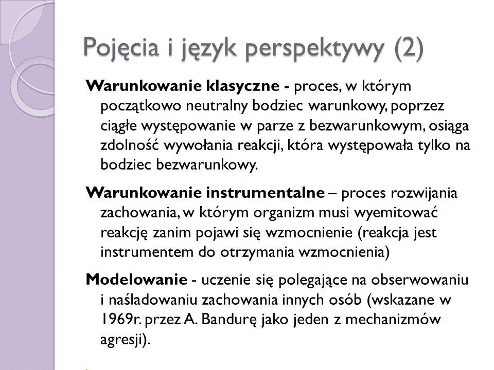 Pojęcia i język perspektywy (2)