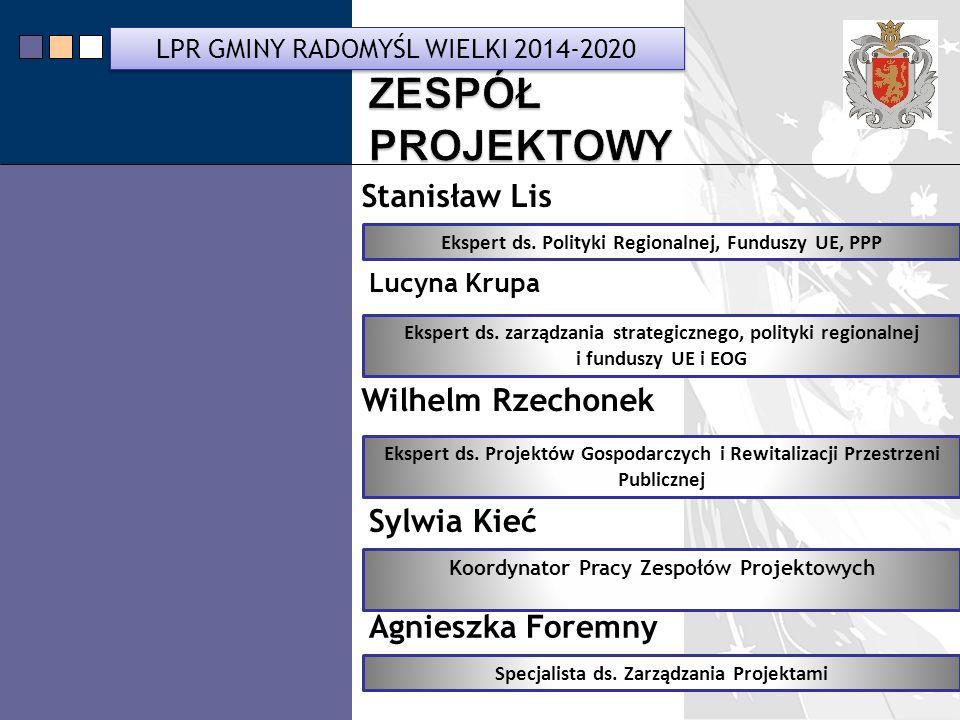 ZESPÓŁ PROJEKTOWY Stanisław Lis Wilhelm Rzechonek Sylwia Kieć