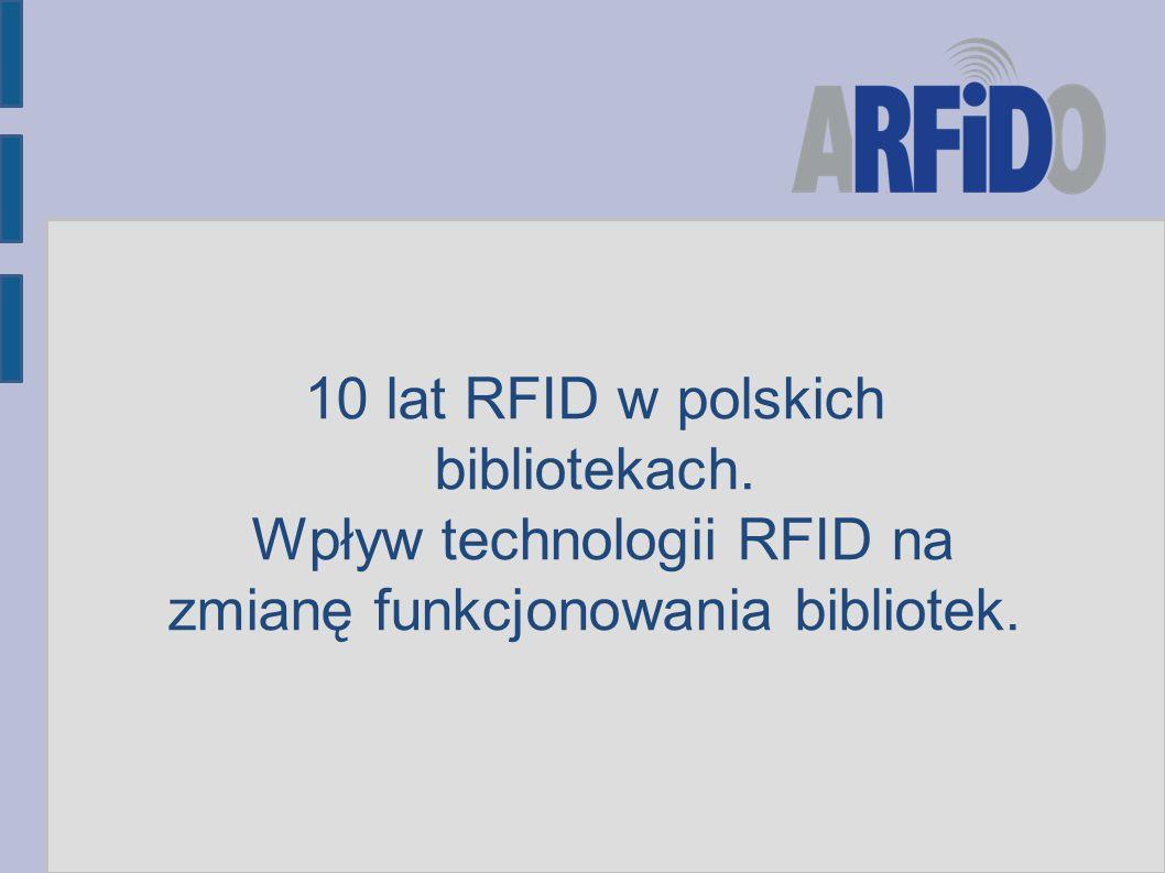 10 lat RFID w polskich bibliotekach.