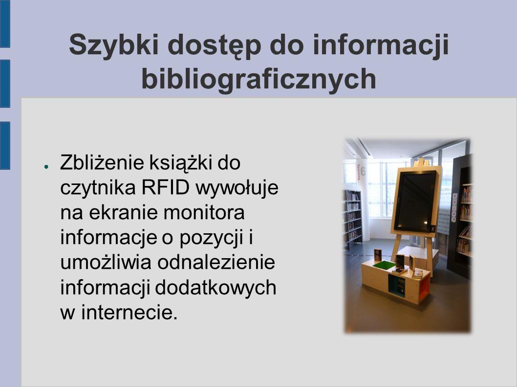 Szybki dostęp do informacji bibliograficznych