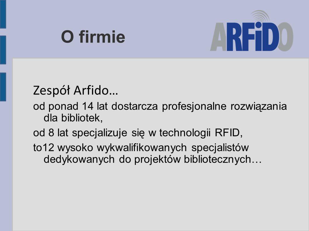 O firmie Zespół Arfido…