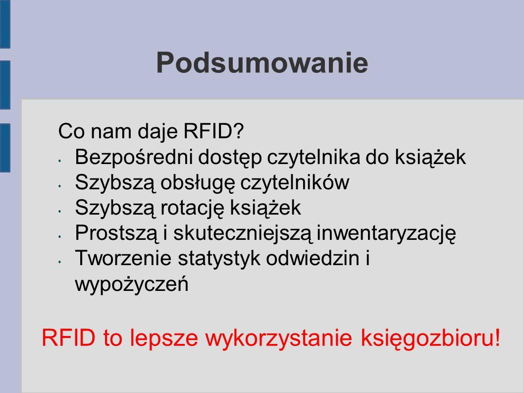 RFID to lepsze wykorzystanie księgozbioru!