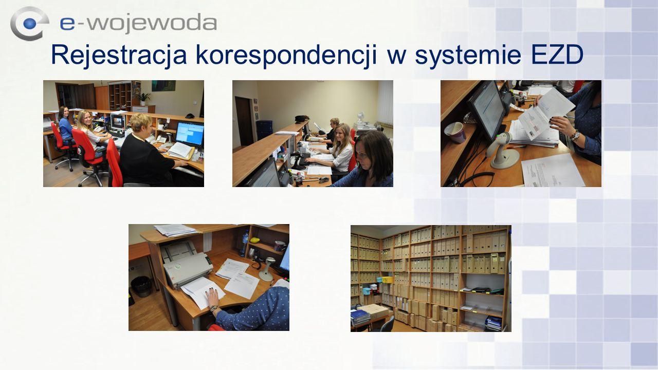 Rejestracja korespondencji w systemie EZD