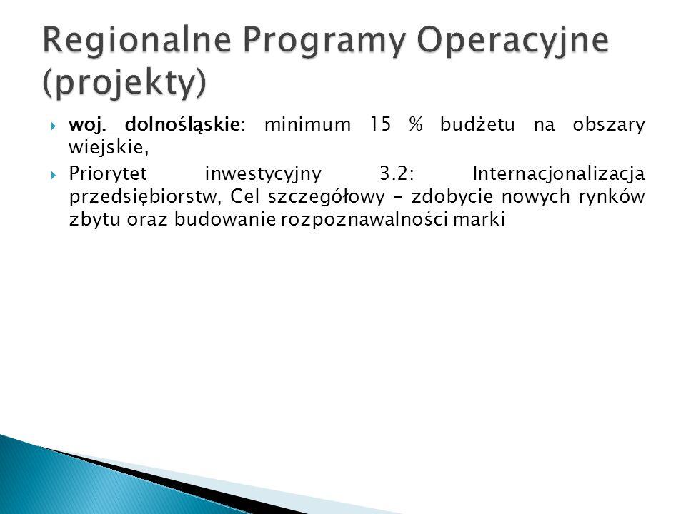 Regionalne Programy Operacyjne (projekty)