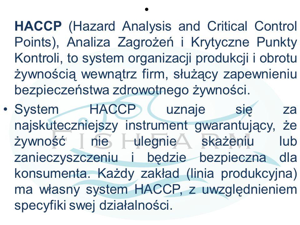 HACCP (Hazard Analysis and Critical Control Points), Analiza Zagrożeń i Krytyczne Punkty Kontroli, to system organizacji produkcji i obrotu żywnością wewnątrz firm, służący zapewnieniu bezpieczeństwa zdrowotnego żywności.