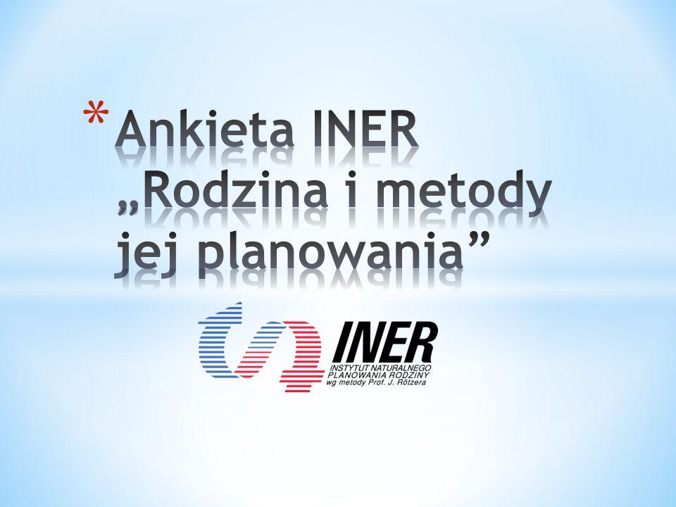 """Ankieta INER """"Rodzina i metody jej planowania"""