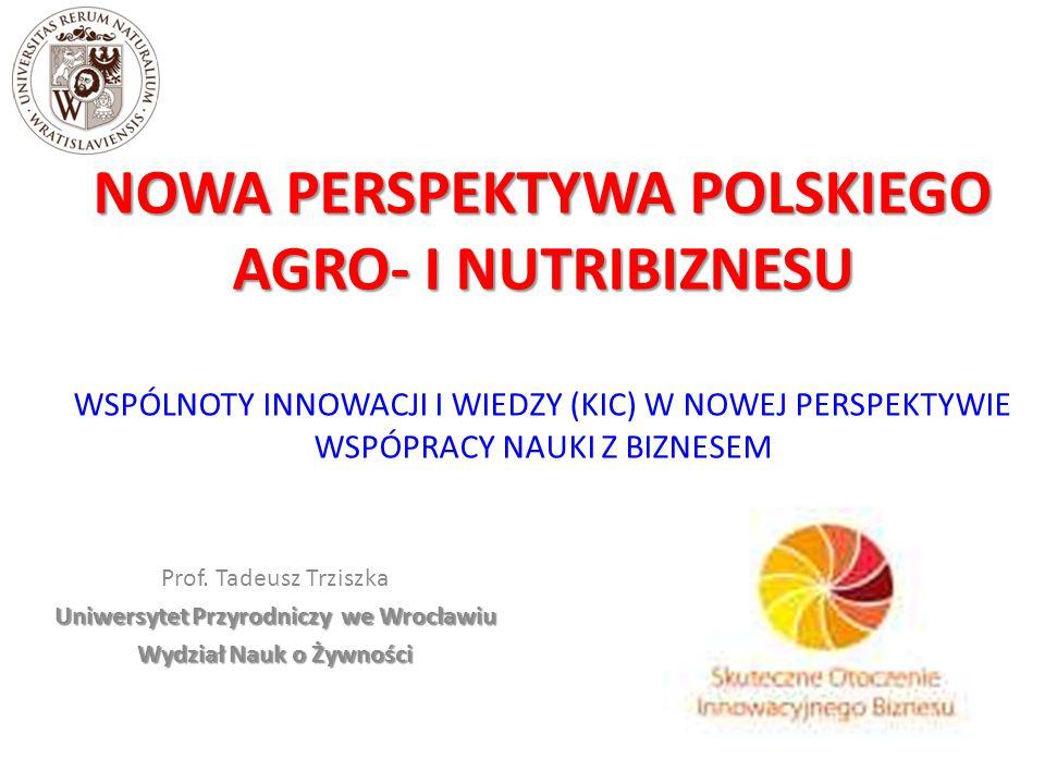 Uniwersytet Przyrodniczy we Wrocławiu Wydział Nauk o Żywności