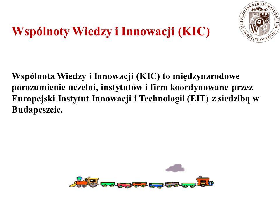 Wspólnoty Wiedzy i Innowacji (KIC)