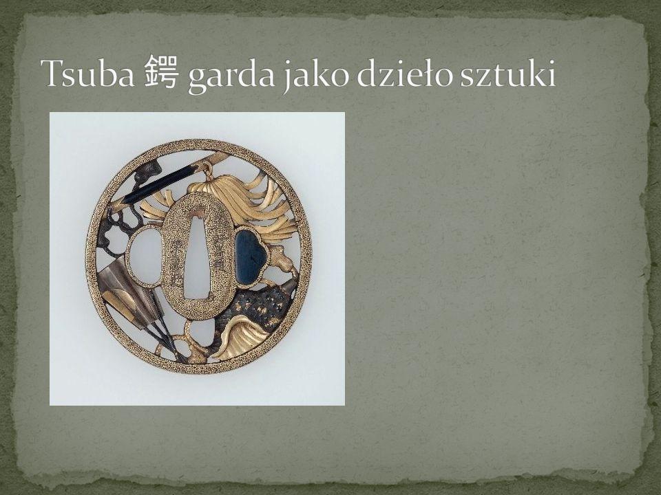 Tsuba 鍔 garda jako dzieło sztuki