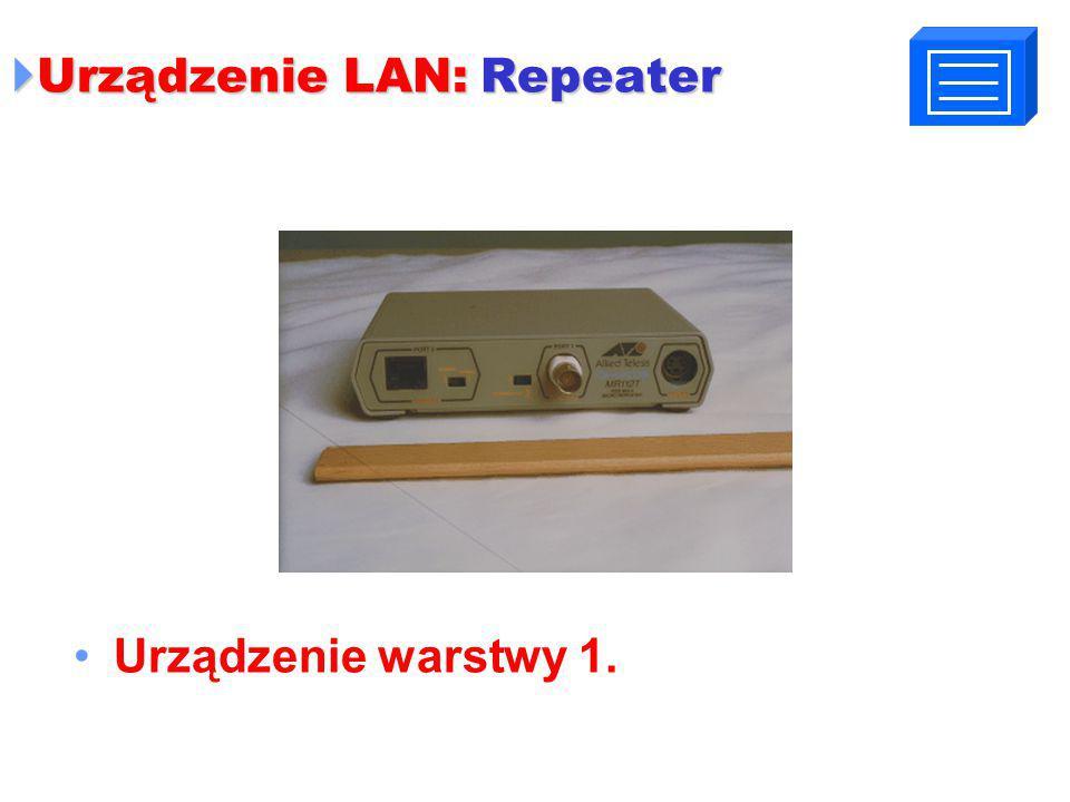 Urządzenie LAN: Repeater