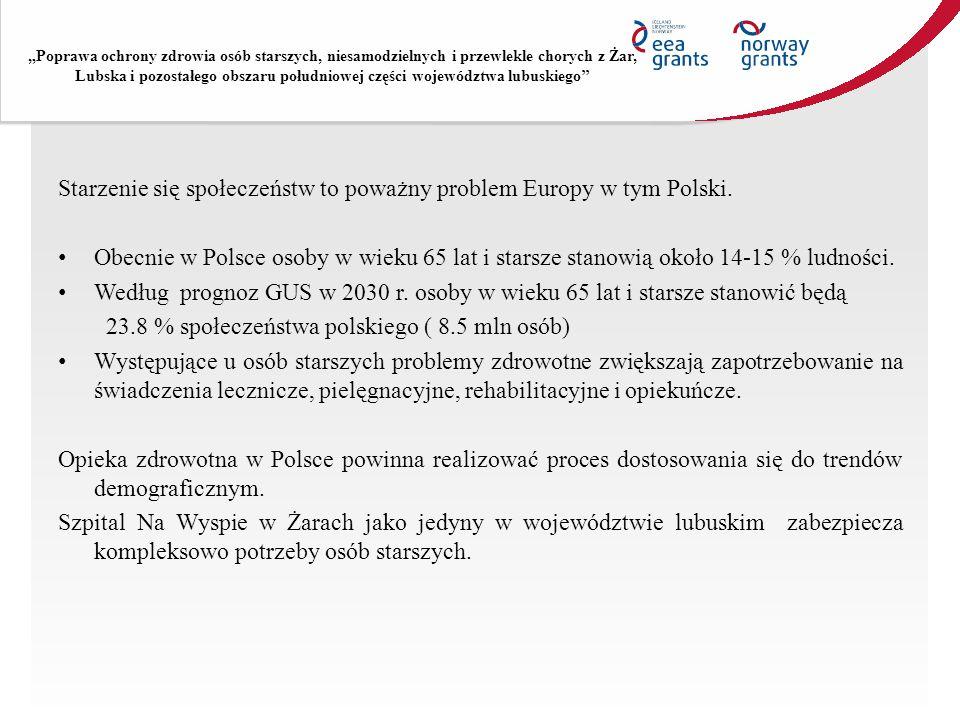 Starzenie się społeczeństw to poważny problem Europy w tym Polski.