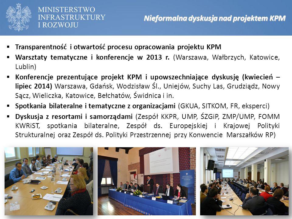 Nieformalna dyskusja nad projektem KPM