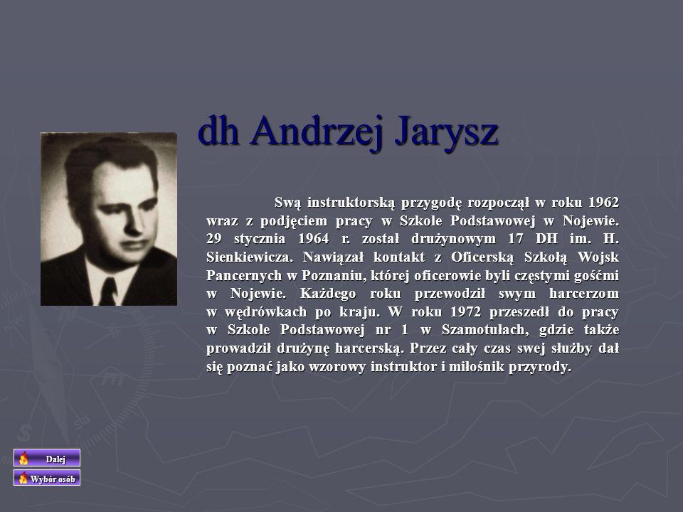 dh Andrzej Jarysz