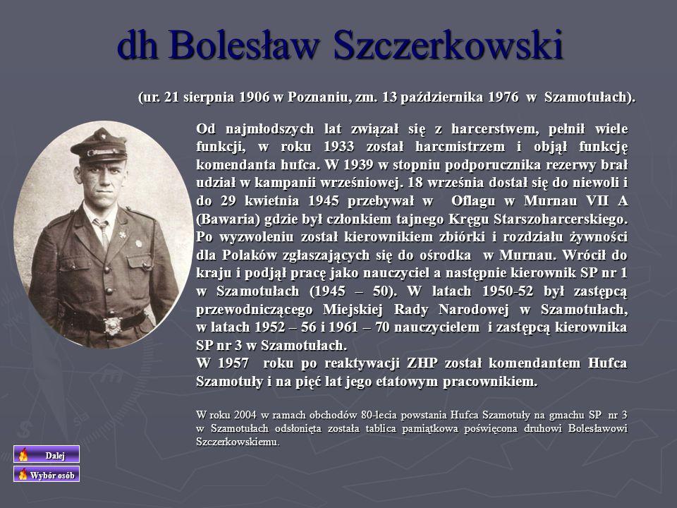 dh Bolesław Szczerkowski
