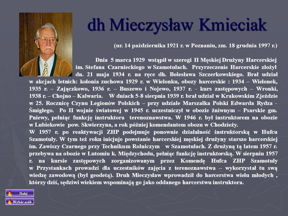 dh Mieczysław Kmieciak