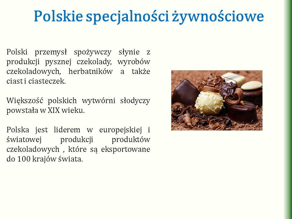 Polskie specjalności żywnościowe