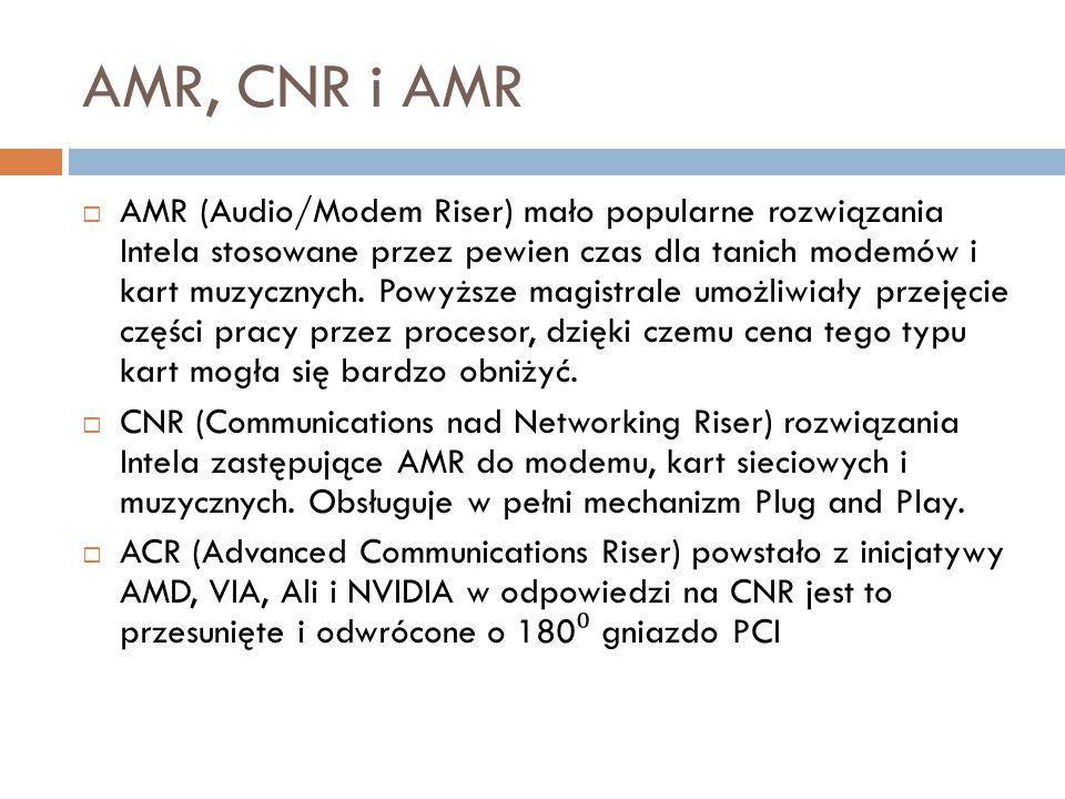 AMR, CNR i AMR