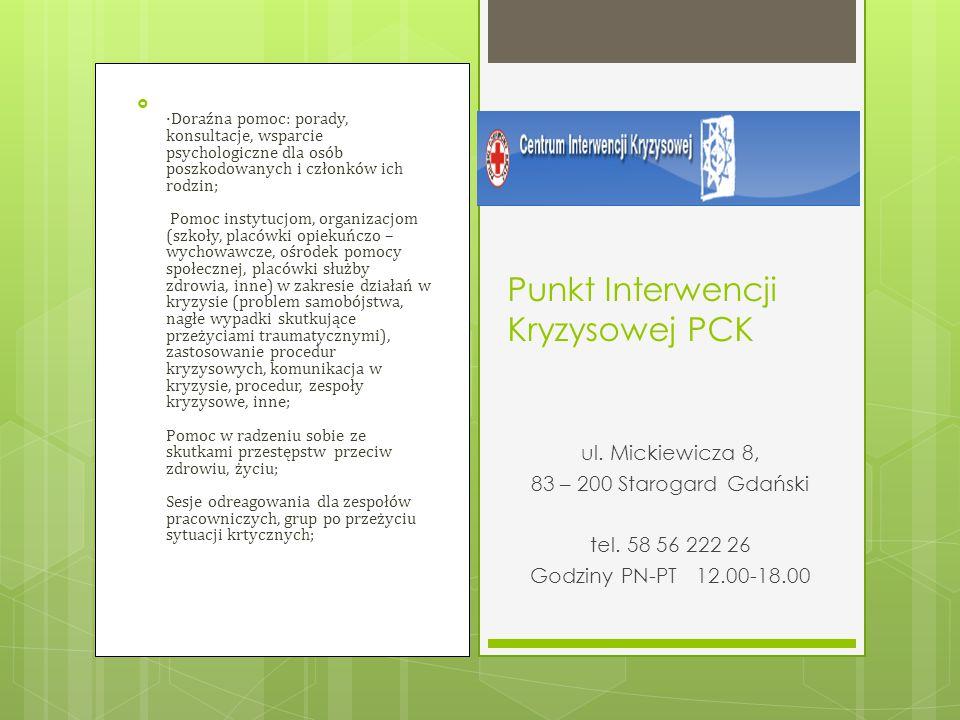Punkt Interwencji Kryzysowej PCK
