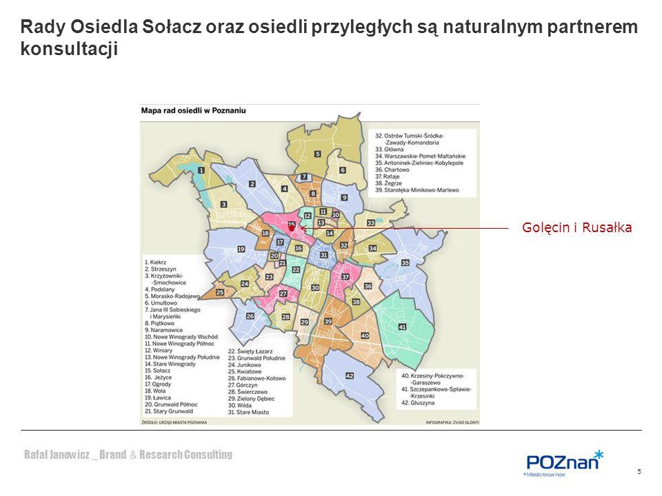 Rady Osiedla Sołacz oraz osiedli przyległych są naturalnym partnerem konsultacji