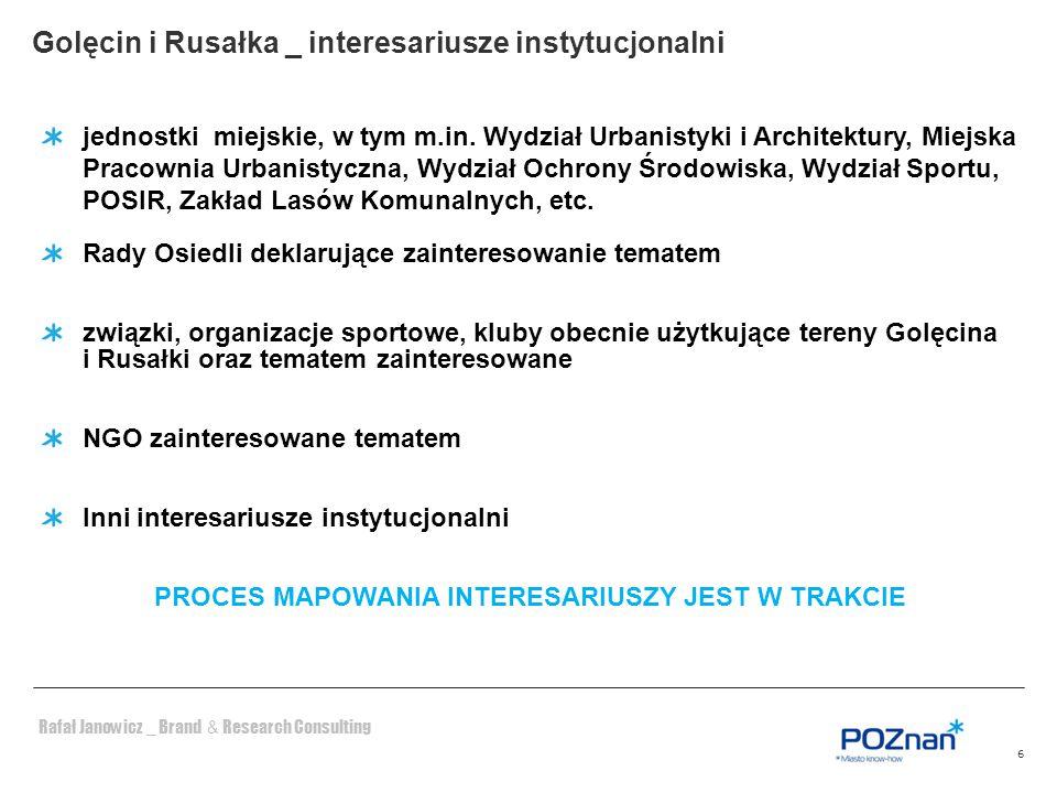 Golęcin i Rusałka _ interesariusze instytucjonalni
