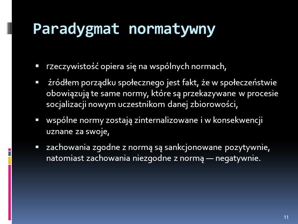 Paradygmat normatywny