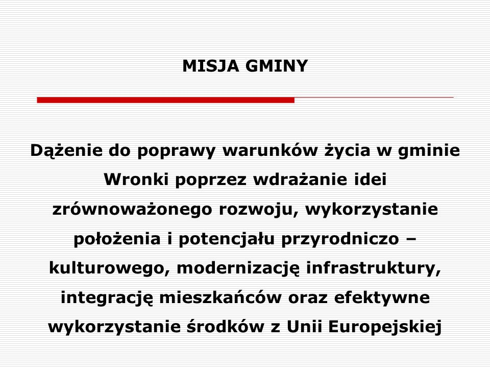 MISJA GMINY