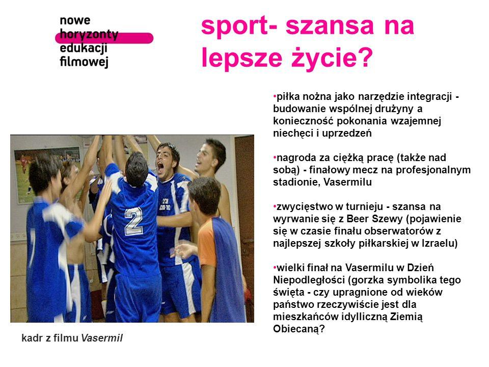 sport- szansa na lepsze życie