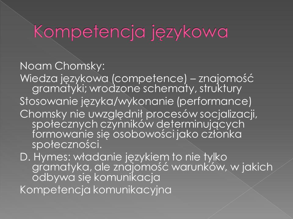 Kompetencja językowa