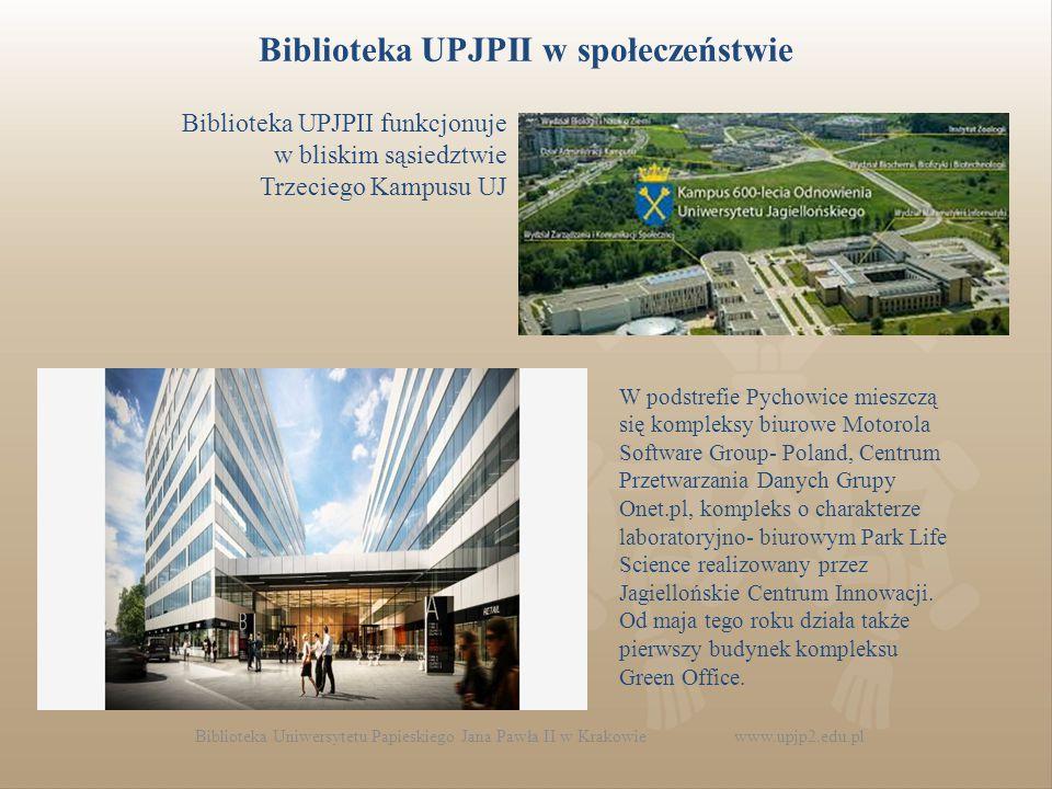 Biblioteka UPJPII w społeczeństwie