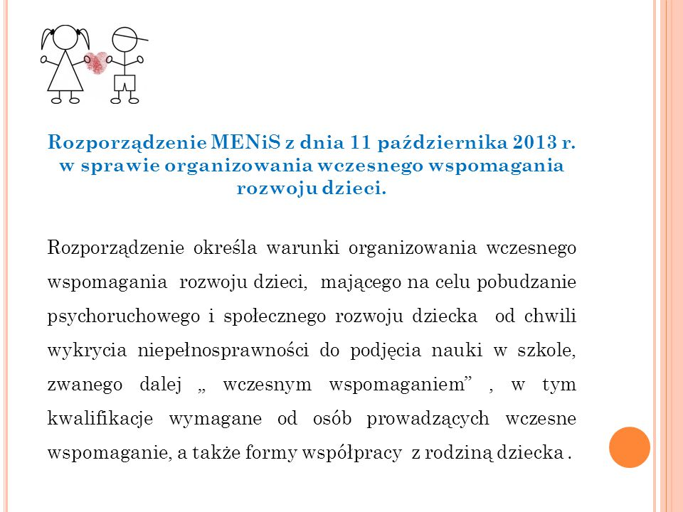 Rozporządzenie MENiS z dnia 11 października 2013 r