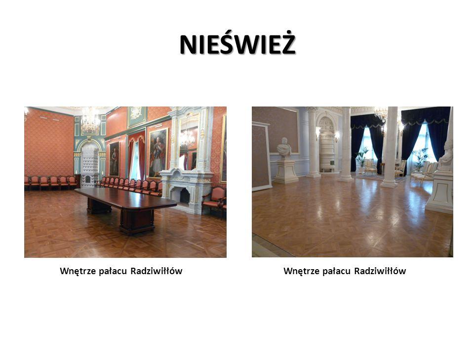 NIEŚWIEŻ Wnętrze pałacu Radziwiłłów Wnętrze pałacu Radziwiłłów.