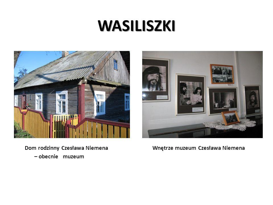 WASILISZKI Dom rodzinny Czesława Niemena Wnętrze muzeum Czesława Niemena.