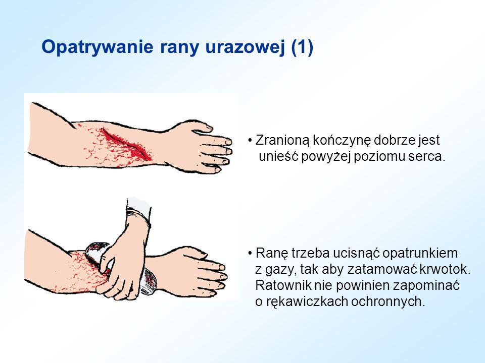 Opatrywanie rany urazowej (1)