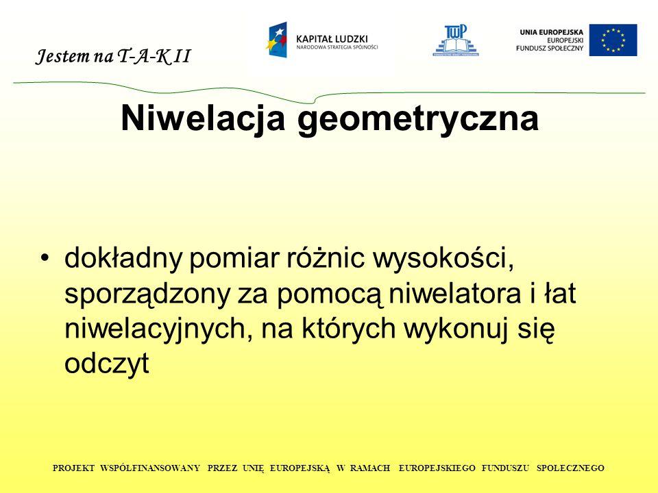 Niwelacja geometryczna