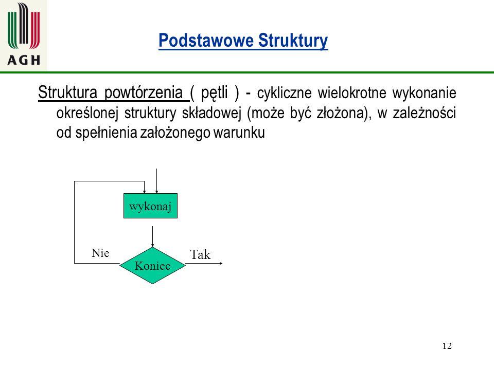 Podstawowe Struktury