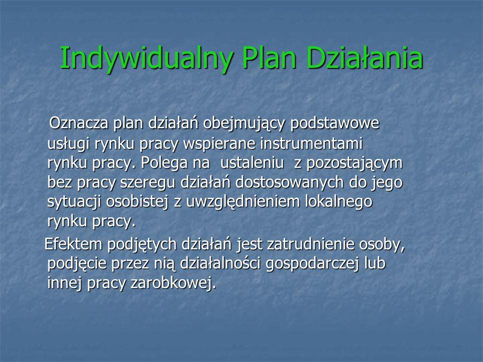 Indywidualny Plan Działania